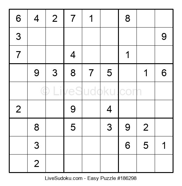 Beginners Puzzle #186298