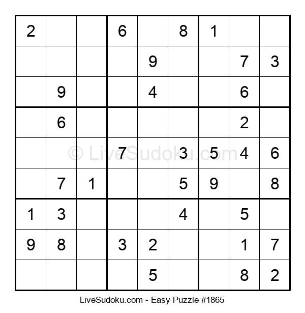 Beginners Puzzle #1865