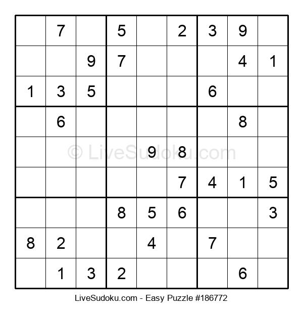 Beginners Puzzle #186772