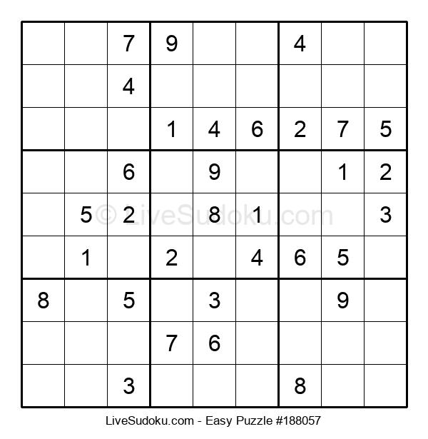 Beginners Puzzle #188057