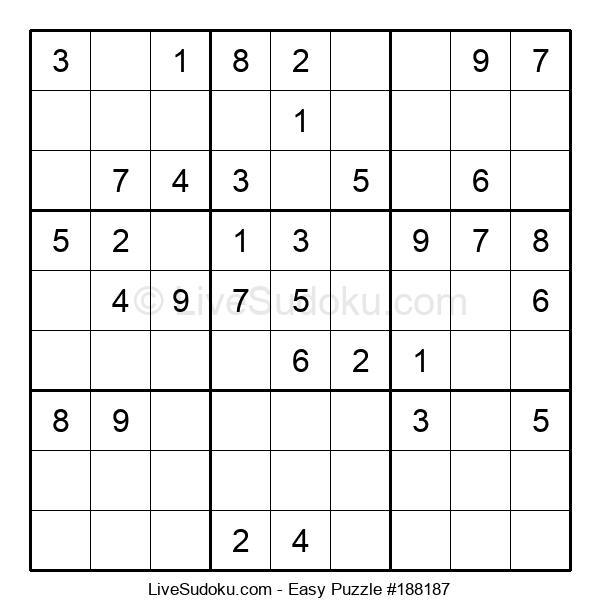Beginners Puzzle #188187