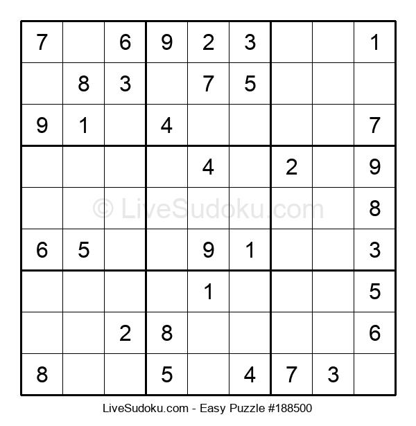Beginners Puzzle #188500
