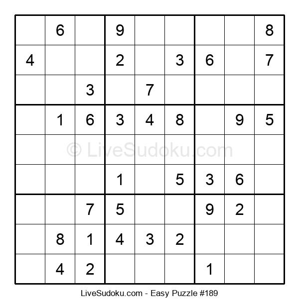 Beginners Puzzle #189