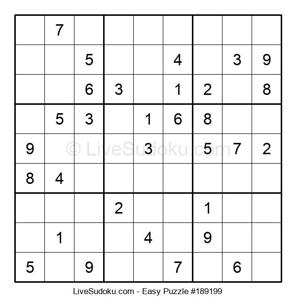 Beginners Puzzle #189199