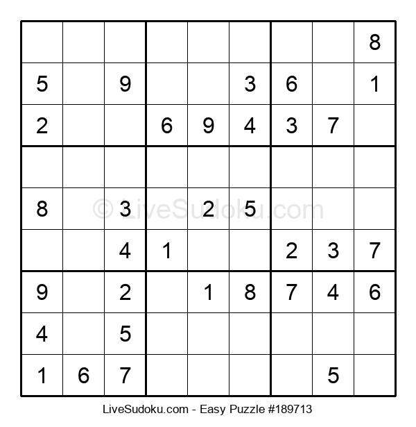 Beginners Puzzle #189713
