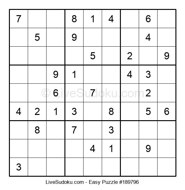 Beginners Puzzle #189796