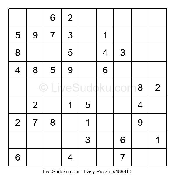 Beginners Puzzle #189810