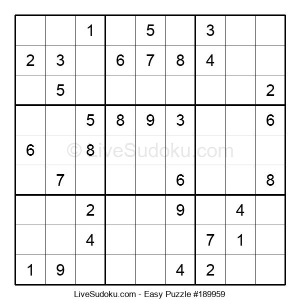 Beginners Puzzle #189959