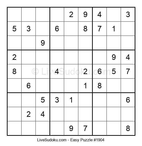 Beginners Puzzle #1904