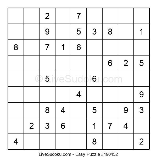 Beginners Puzzle #190452