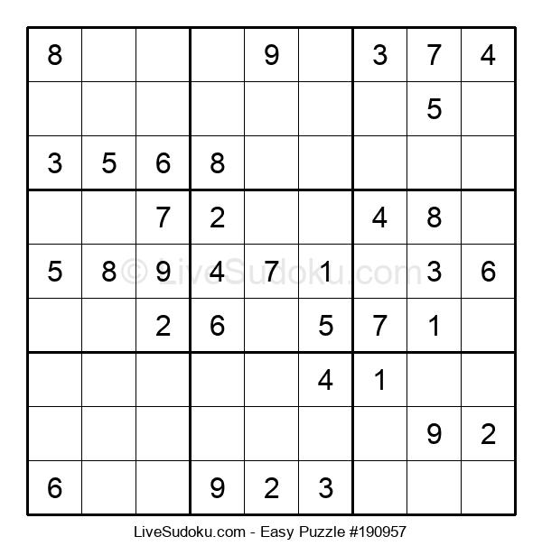 Beginners Puzzle #190957