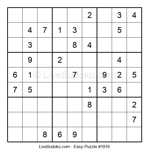 Beginners Puzzle #1919