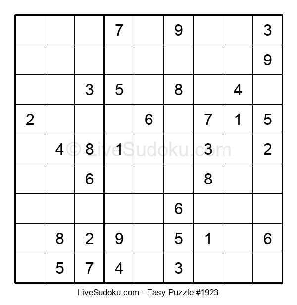 Beginners Puzzle #1923