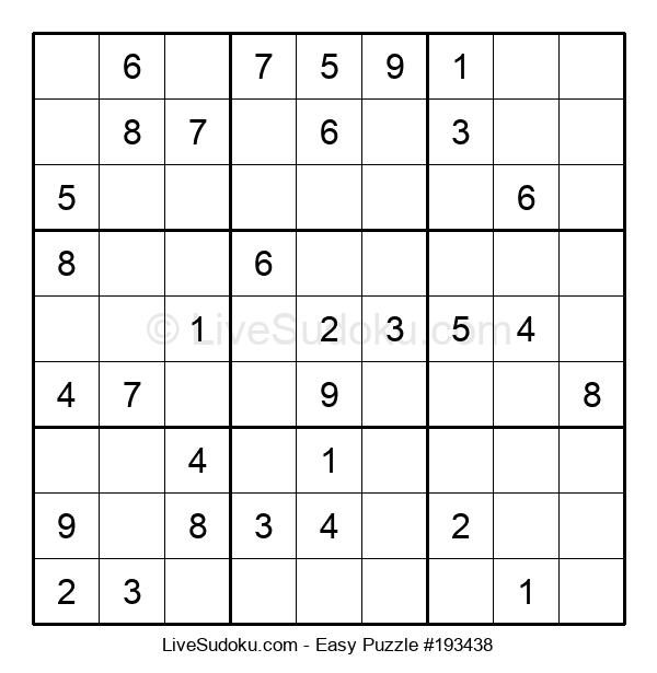 Beginners Puzzle #193438