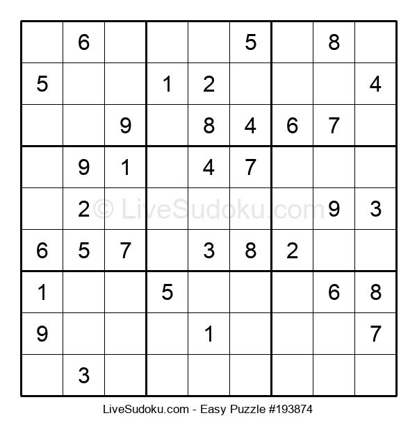 Beginners Puzzle #193874