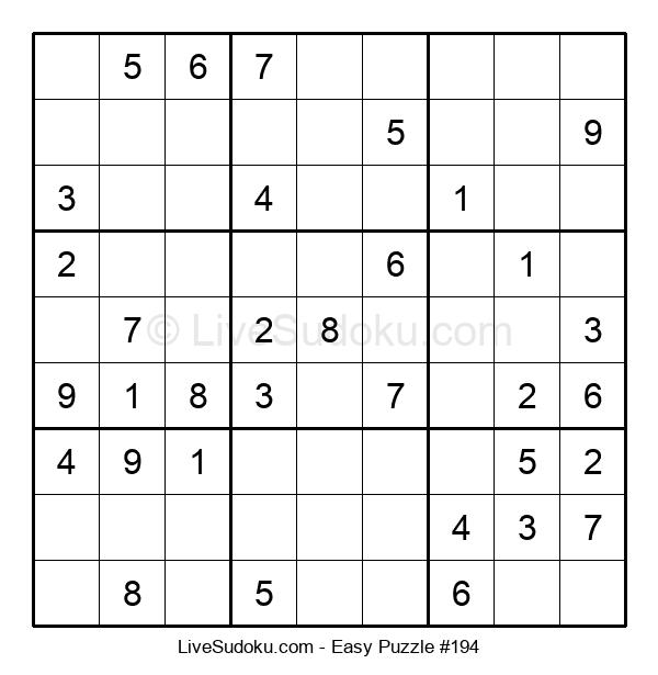 Beginners Puzzle #194