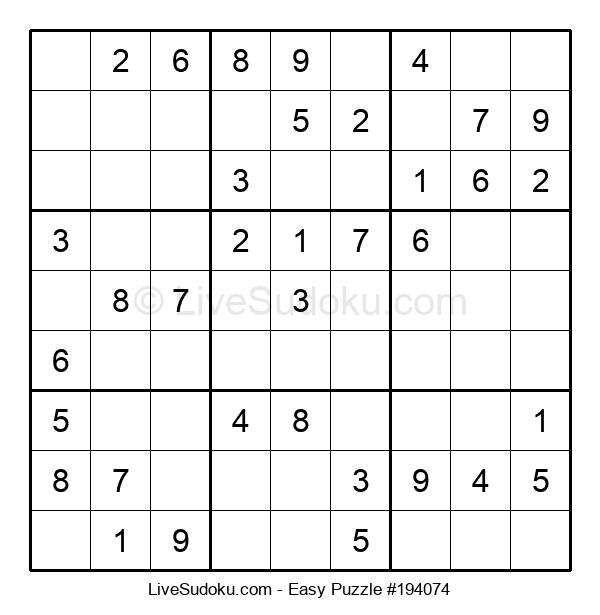 Beginners Puzzle #194074