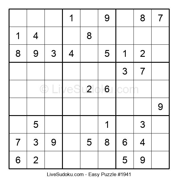 Beginners Puzzle #1941