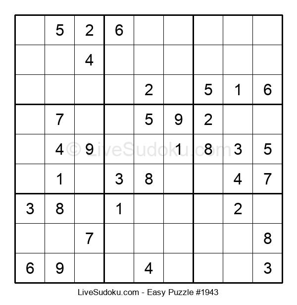 Beginners Puzzle #1943
