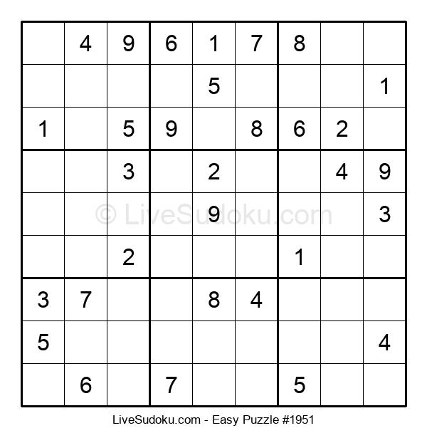 Beginners Puzzle #1951