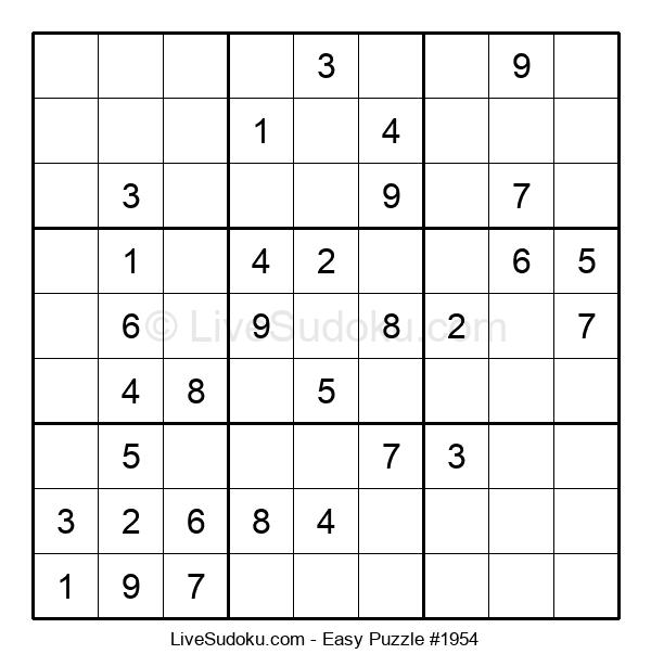 Beginners Puzzle #1954
