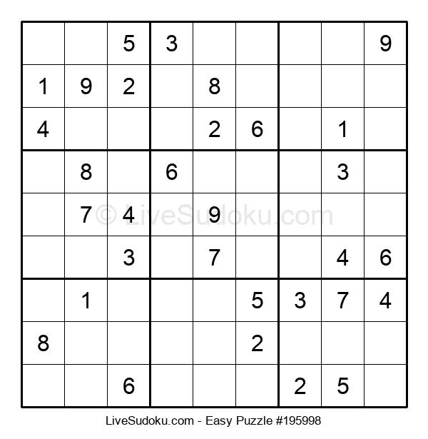 Beginners Puzzle #195998