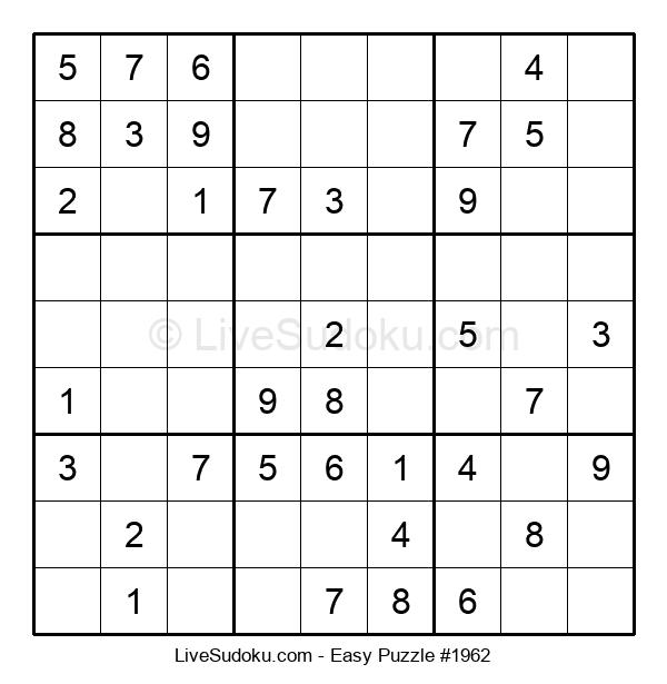 Beginners Puzzle #1962