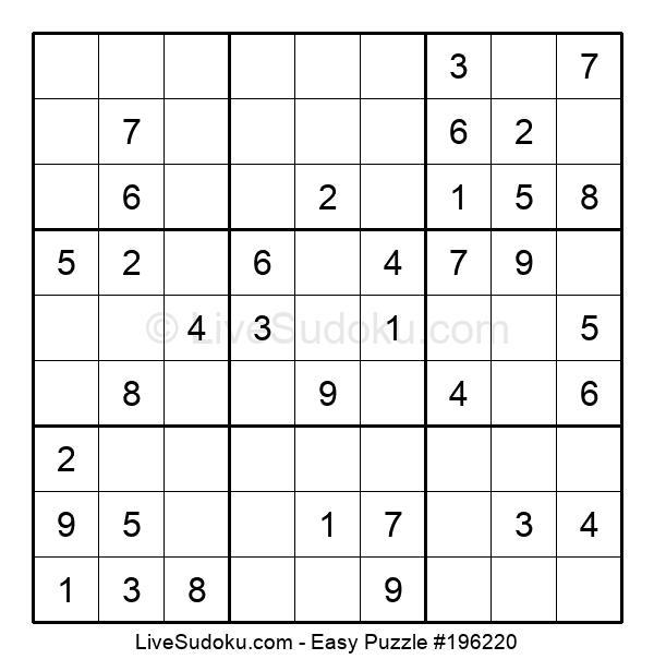 Puzzle para principiantes nº 196220