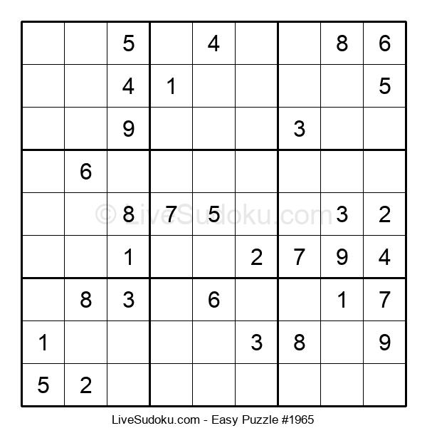 Beginners Puzzle #1965