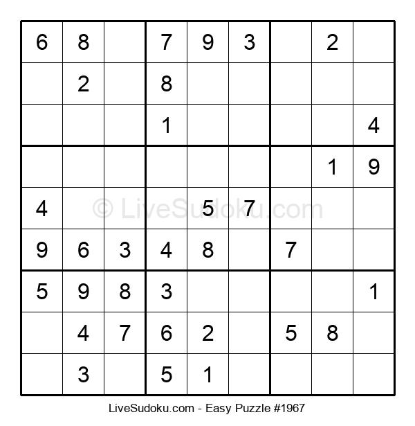 Beginners Puzzle #1967