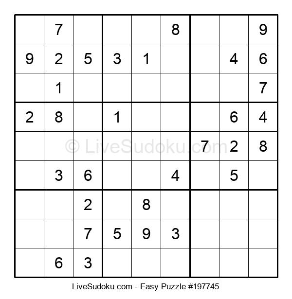 Beginners Puzzle #197745