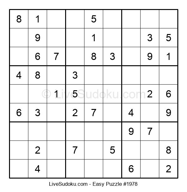 Beginners Puzzle #1978