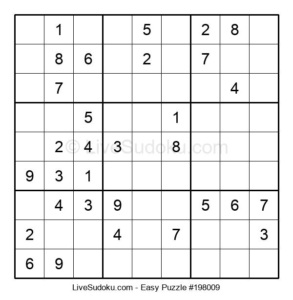 Beginners Puzzle #198009