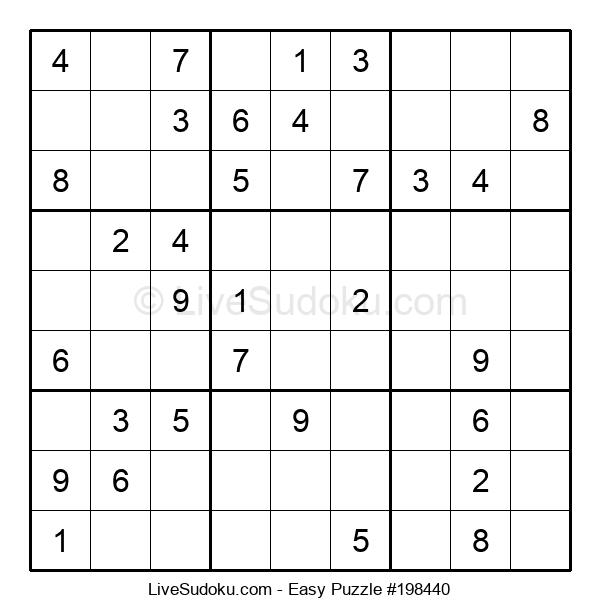 Beginners Puzzle #198440