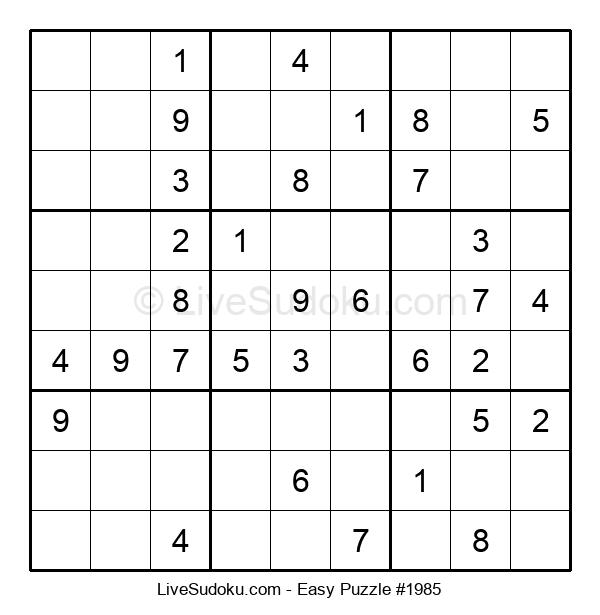 Beginners Puzzle #1985
