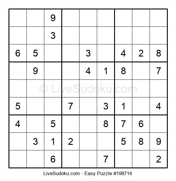 Beginners Puzzle #198714