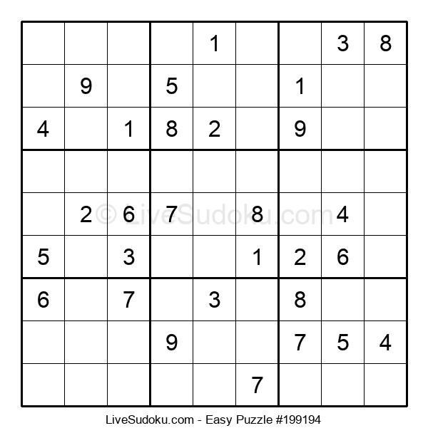 Beginners Puzzle #199194