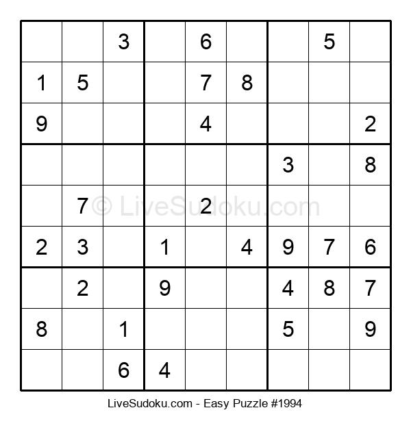 Beginners Puzzle #1994