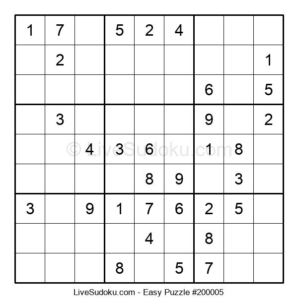 Beginners Puzzle #200005