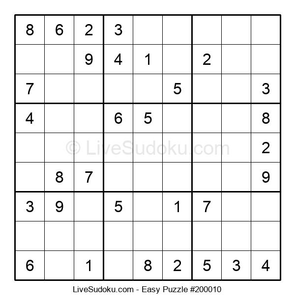 Beginners Puzzle #200010