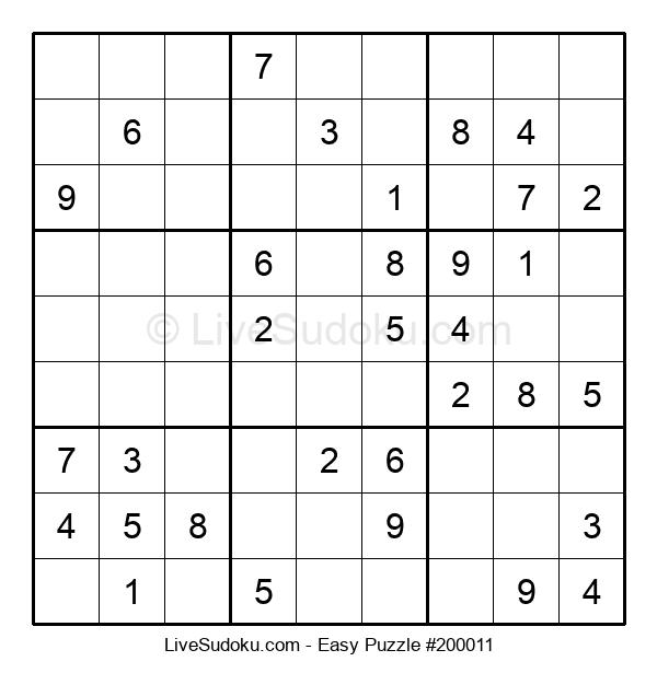 Beginners Puzzle #200011
