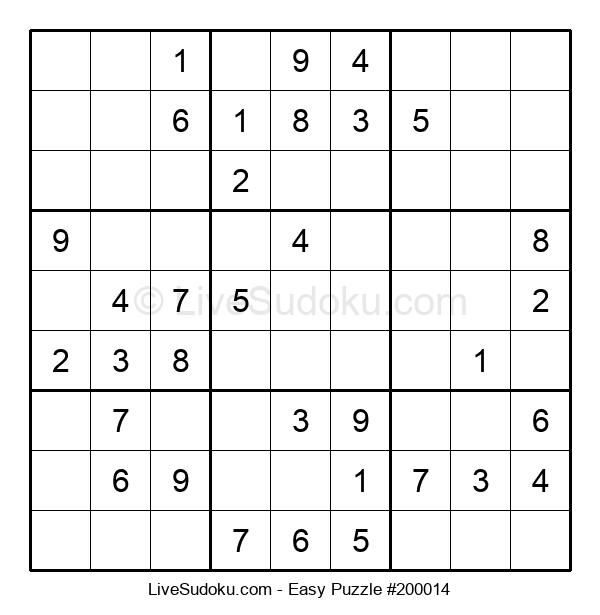 Beginners Puzzle #200014