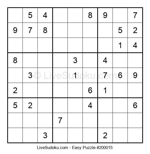 Beginners Puzzle #200015