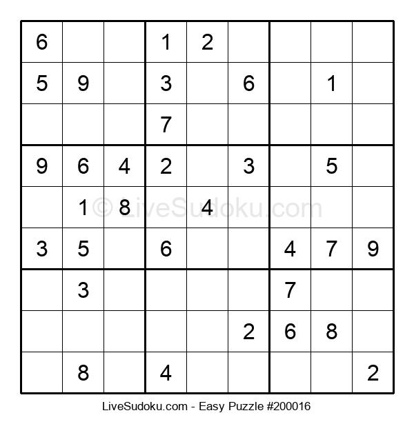 Beginners Puzzle #200016