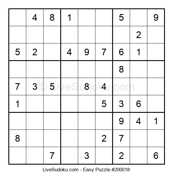 Beginners Puzzle #200018