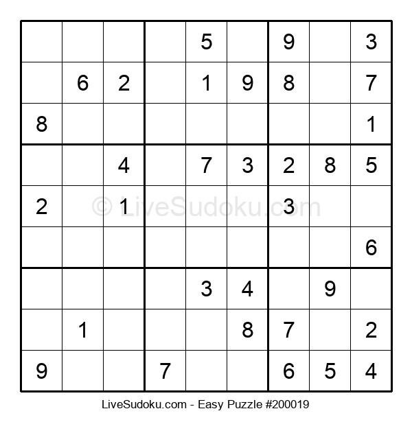 Beginners Puzzle #200019