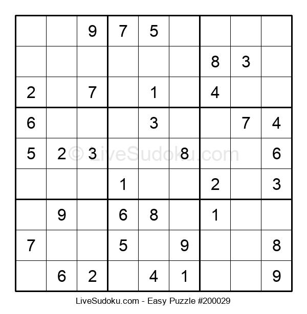 Beginners Puzzle #200029