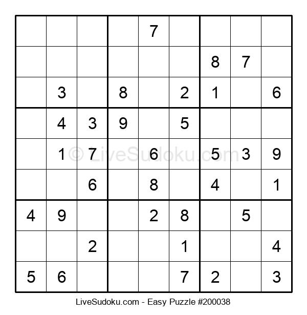 Beginners Puzzle #200038