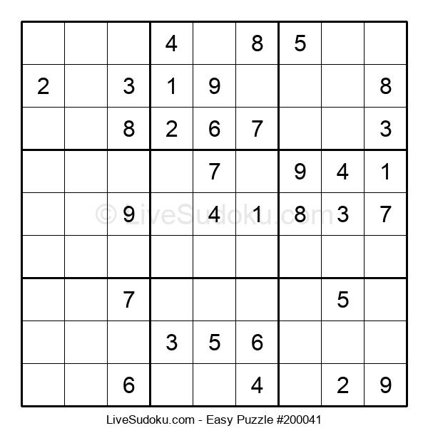Beginners Puzzle #200041