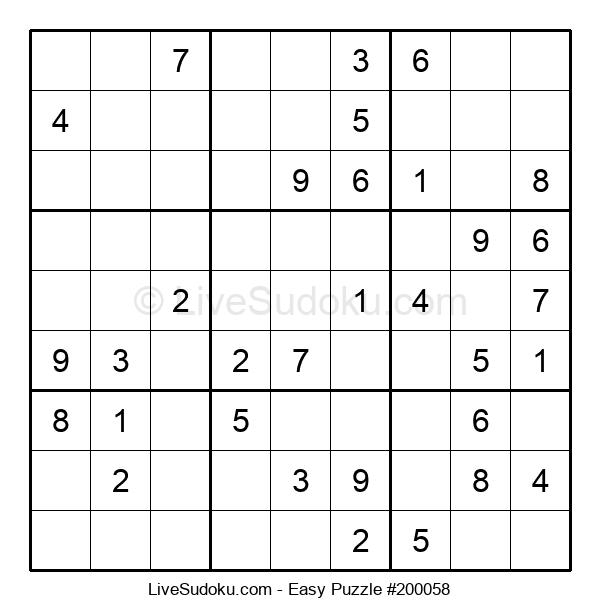 Beginners Puzzle #200058